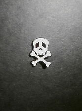 CAPTAIN HARLOCK SKULL CROSSBONES PIN  MY YOUTH ARCADIA VINTAGE ANIME BONE DADDY
