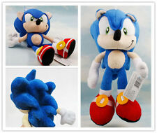 "Sonic The Hedgehog Figure Plush Toy 10"" Kid Soft Toy Game Doll Birthday"