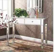 Hollywood Vanity Mirror Elegant Console Furniture Table Desk Glam Make Up Chic