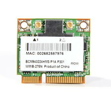 Broadcom Wireless N Dual Band Half Mini PCI-E Card Laptop Wifi BCM43224 Module