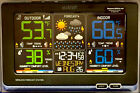 NEW! La Crosse Wireless Color Weather Station Model C87214 Black