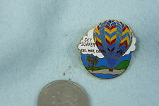 HOT AIR BALLOON LAPEL PIN SKY SURFER DEL MAR, CA.
