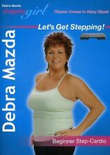 Shapely Girl: Let's Get Stepping! Beginner Step Cardio (2009, DVD NIEUW)