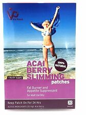 Vie Patch - ACAI BERRY SLIMMING - 30 Patches. Fat Burner and Appetite Suppres...