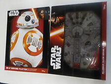 STAR WARS DISNEY THINKGEEK BB-8 + MILLENNIUM FALCON SERVING PLATTER NEW NWT