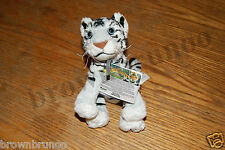 Microsoft Xbox 360 Kinectimals Plush White Tiger w/ Kinect Code NEW