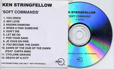 KEN STRINGFELLOW Soft Commands 2004 UK 12-trk promo test CD The Posies REM