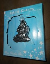 "Gloria Duchin Metal Christmas Ornament - Angel ""Light of Kindness"" - NEW Boxed"