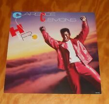 Clarence Clemons Hero Poster Flat 2-Sided Square 1985 Promo 12x12 R&B