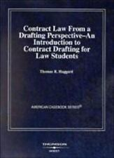 American Casebook: Contract Law from a Drafting Perspective--An Introduction to