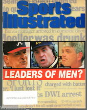 Sports Illustrated 1995 Atlanta Braves Mgr. Bobby Cox Subscription Issue Exc.