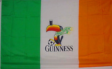 GUINNESS BEER FLAG SPORTS BAR SOCCER BANNER NEW 3X5FT gs