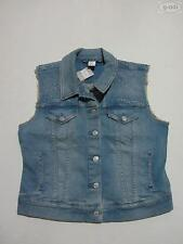 Levi's® Damen Weste Jeansweste, Gr. L, NEU !! Faded Washed Denim, Biker-Lady !