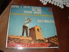 """DOMENICO MODUGNO SANREMO'67 """" SOPRA I TETTI AZZURRI DEL MIO PAZZO AMORE""""ITALY'82"""