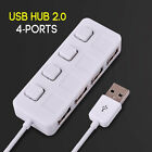 Brand New Micro 4 Ports Mini 2.0 Hub USB High Speed USB Splitter On/Off Switch