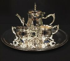 Four  Piece Silver Plate Coffee Set By International Silver Company China