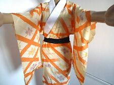 Authentic vintage Japanese women's jyuban for kimono, Japan import (H704)