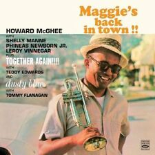 Howard McGhee: MAGGIE'S BACK IN TOWN + TOGETHER AGAIN + DUSTY BLUE 3 LPS ON 2 CD