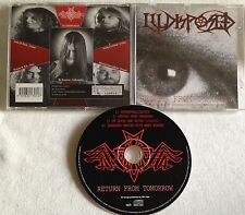 ILLDISPOSED - Return From Tomorrow  CD 1994 PROGRESS RED LABELS nile invocator