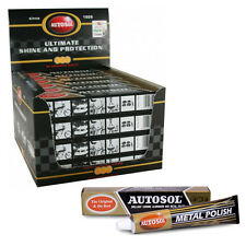 24 x AUTOSOL CHROME & METAL CLEANER POLISH 100g THE ORIGINAL & BEST - BOX OF 24
