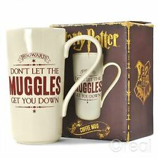 New Harry Potter Don't Let The Muggles Get You Down Latte Mug Coffee Official