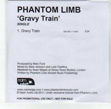 (DJ884) Phantom Limb, Gravy Train - 2011 DJ CD