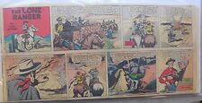 (23) Lone Ranger Sunday Pages by Fran Striker and Charles Flanders from 1952