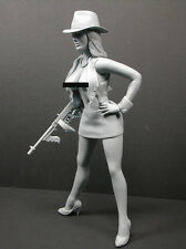"CUSTOM 1/6 SCALE RESIN KIT/ FEMALE GANGSTER ""BONNIE"""