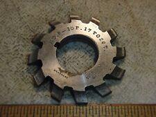 B & S No 6 - 10P 17 TO 20T Involute Gear Cutters HS -12 Gear Cutter