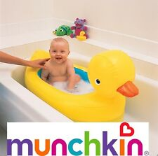 Munchkin White Hot Inflatable Duck Tub Bath Baby Kids Inflatable Home Travel