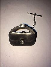 PURSE DR40 Tie Pin With Chain Made From English Pewter