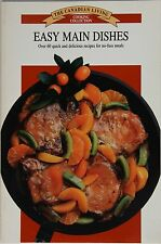 Canadian Living Easy Main Dishes Cookbook Illustrated Free Shipping