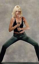 Stampa incorniciata-Uma Thurman con una spada (PICTURE Kill Bill Pulp Fiction poster)