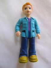 FISHER PRICE GO ANYWHERE DAD MAN GENTLEMAN Doll Sweet Streets Dollhouse Rare