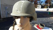 US Ballistic Helmet Size Small MFG Spec Plastic Products.