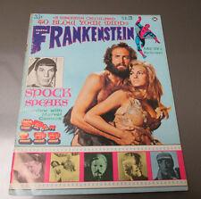 1968 CASTLE OF FRANKENSTEIN #12 VG- Spock Spider-Man Magazine Rachel Welch