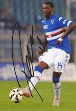 SAMPDORIA: Pedro Obiang firmato 6x4 azione photo+coa