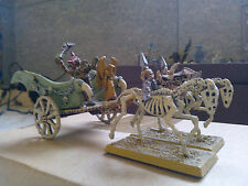WARHAMMER FANTASY-UNDEAD CHARIOT-METAL-PAINTED-GW