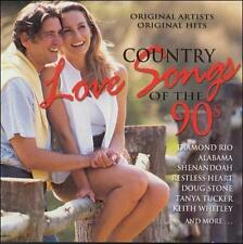 Country Love Songs Of The 90s - Country Love Songs Of The 90s (2000) - Used