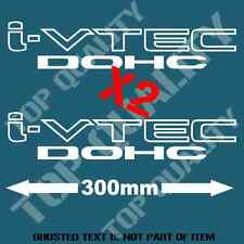iVTEC DOHC DECAL STICKER X 2 FOR HONDA VTEC INTEGRA DRIFT JDM DECALS STICKERS