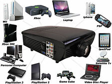 BEST HD Home Theater Multimedia LCD LED Projector 1080-HDMI TV DVD Playstation Y