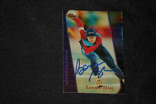 BONNIE BLAIR 2000 COLLECTOR'S EDGE SIGNED AUTOGRAPHED CARD #BB OLYMPIC SKATING