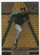 2005 ZENITH ARTIST'S PROOF GOLD PARALLEL #229 Delmon Young #5/50
