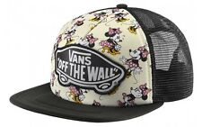 Vans Shoes Off The Wall Women Disney Minnie Mouse Beach Girl Trucker Hat Cap
