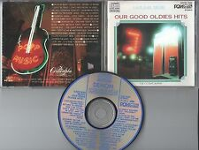 Our Good Oldies Hits CD CAFE BAR MUSIC  (c) 1985  JAPAN DENON CD SAMPLER