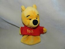 Disney Winnie The Pooh Bear Hand Puppet Stuffed Animal Plush Toy