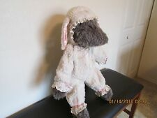 "VINTAGE   -    "" WOLF IN SHEEP'S CLOTHING ""   Plush Stuffed"