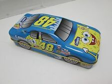 Nascar SpongeBob Squarepants Lowes Tin Car with Playing Cards #48 NEW (S)