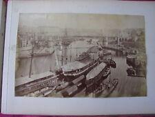 1892/ ALBUM PHOTOS ALBUMINEES Bretagne, port...
