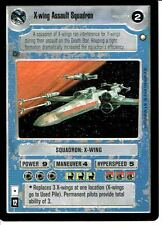 STAR WARS CCG SPECIAL EDITION LIGHT SIDE RARE X-WING ASSAULT SQUADRON